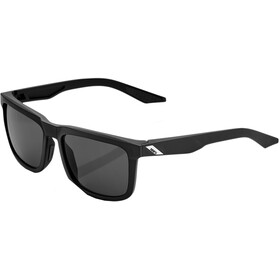 100% Blake Smoke Glasses soft tact black
